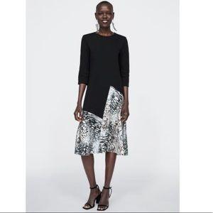 Zara contrasting dress